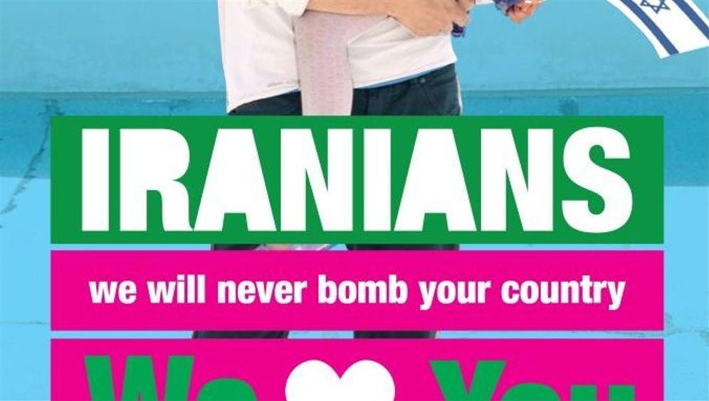 """Facebook-Kampagne: """"Israel loves Iran"""""""