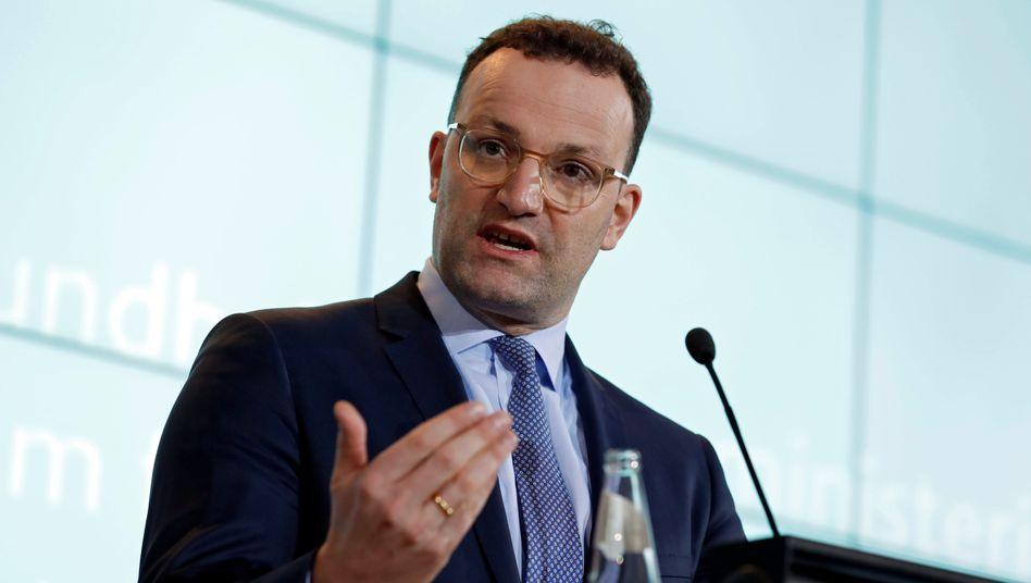 """Minister Spahn: """"Wir nehmen das Coronavirus ernst"""""""