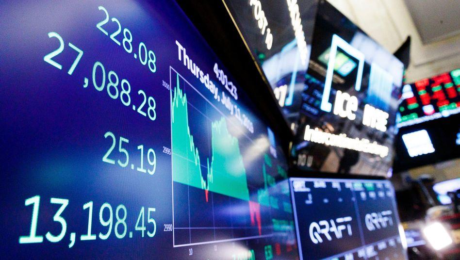 Der Dow Jones Industrial hat die 27.000-Punkte-Marke geknackt