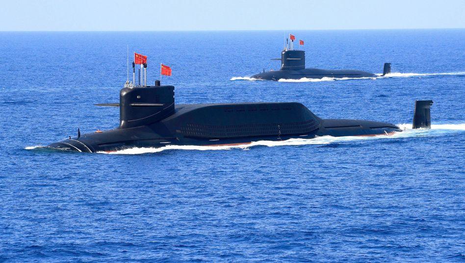 Atom-U-Boote vom Typ 094A (Symbolbild): Raketenstarts auf See haben militärisch mehrere Vorteile.