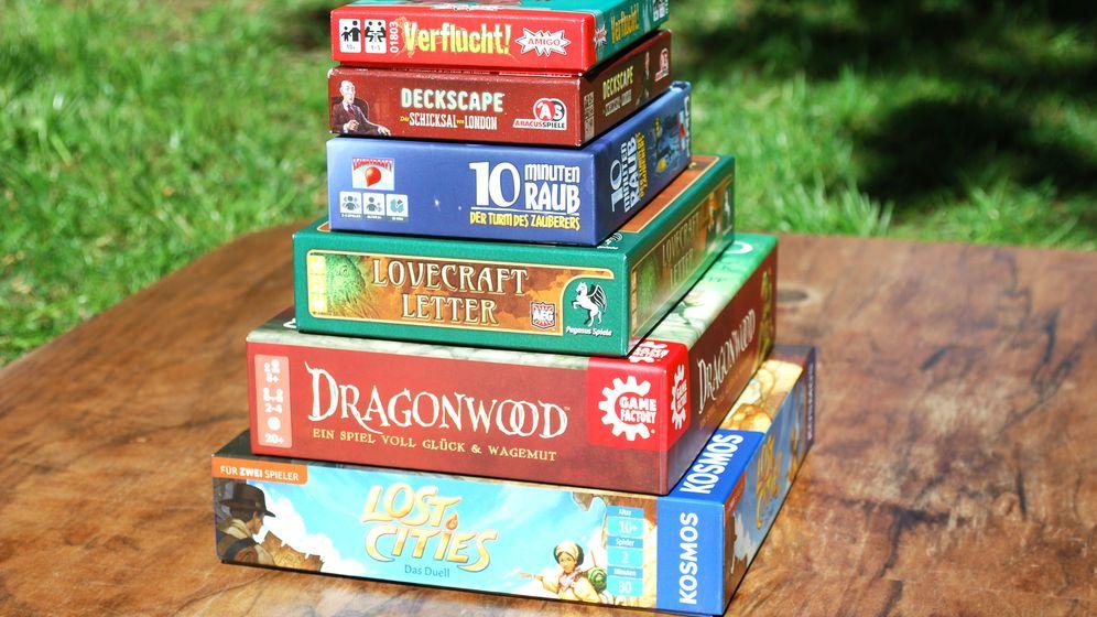 Reisespiele: Magier, Agenten und Drachentöter