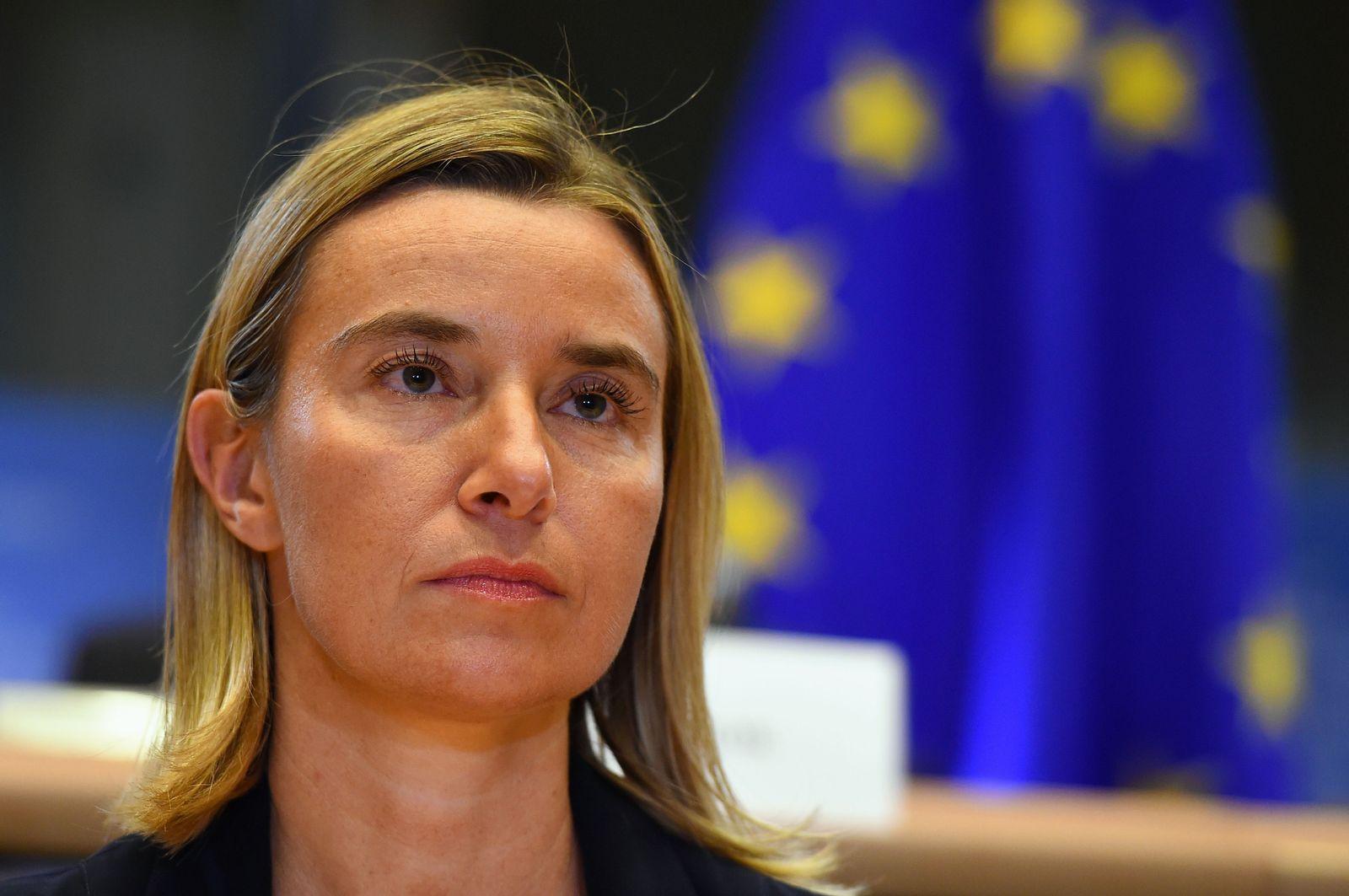 EU-Kommissare/ Mogherini