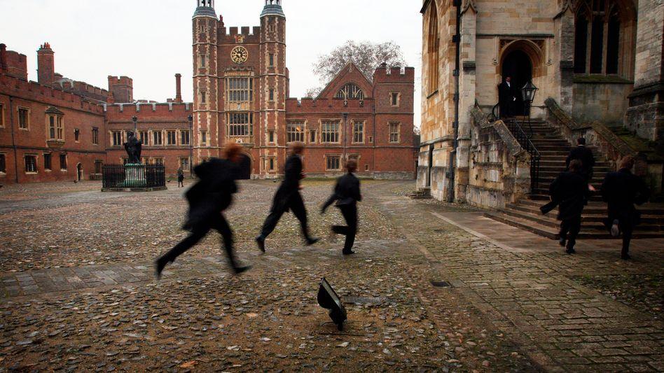 Krimischauplatz Internat (hier im britischen Eton): Druck der Konformität