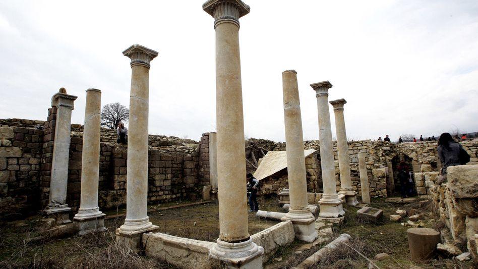 Antike Stadt in der Türkei: Archäologische Funde sorgen für Streit