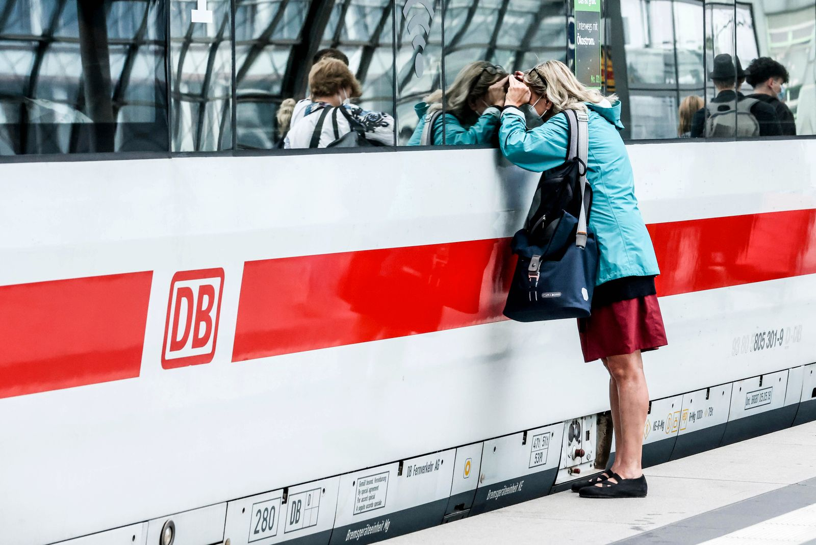 German train drivers' strike