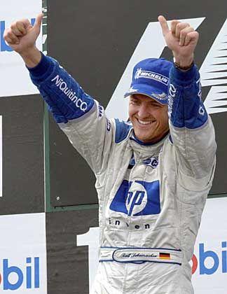 Grund zum Jubeln: Ralf Schumacher