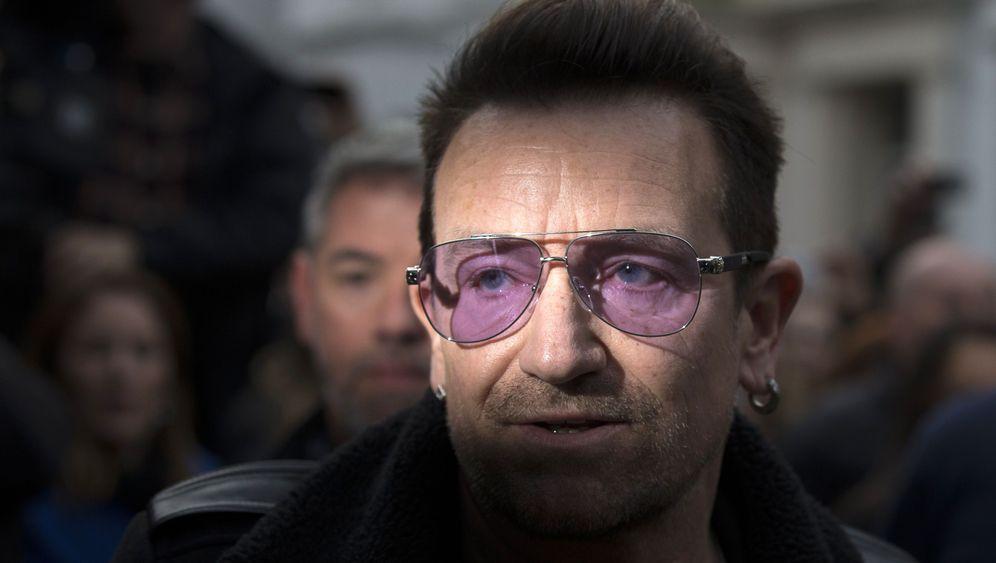 U2-Frontmann Bono: Gebeutelt von einem Fahrradunfall