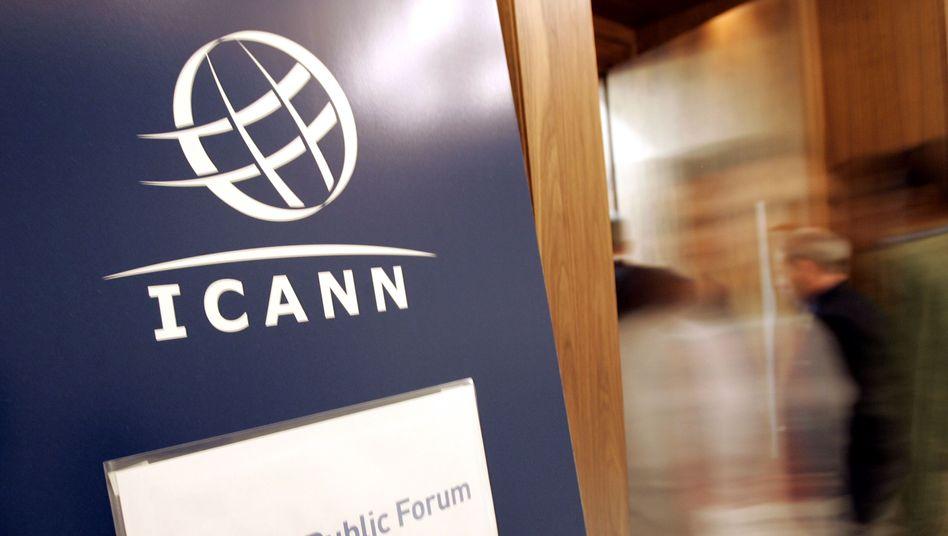 """Icann-Logo (Archivbild): Brief warnt vor """"böswilligem Missbrauch"""""""