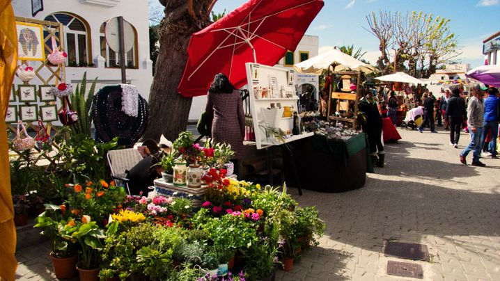 Ibiza: Die Straßen von San Juan