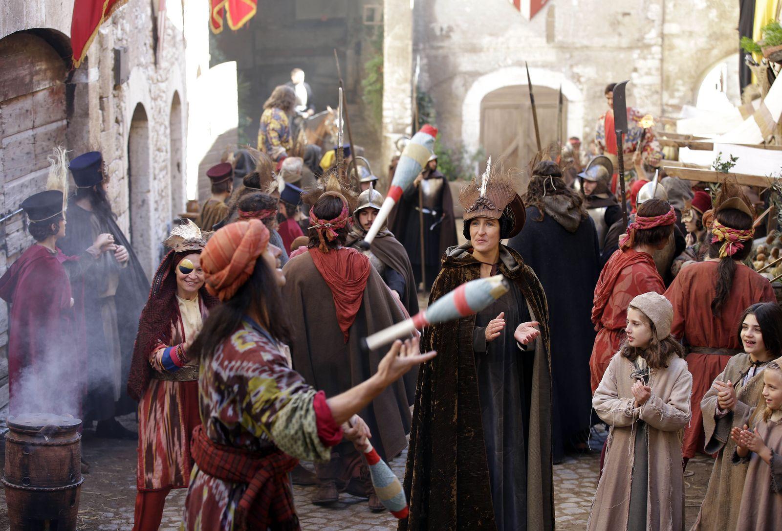 Abiperlen Mittelalter Markt
