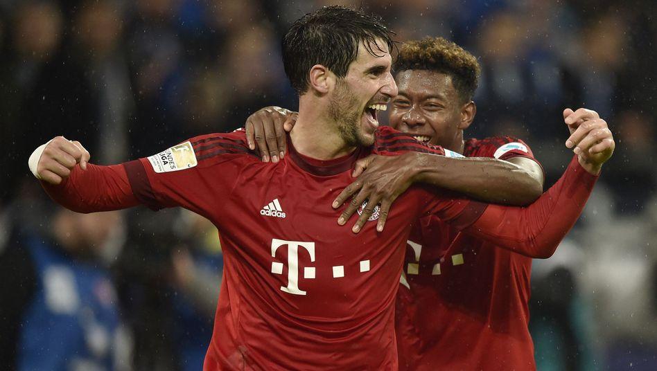 Bayern-Torschützen Martinez, Alaba: Die besten Bayern