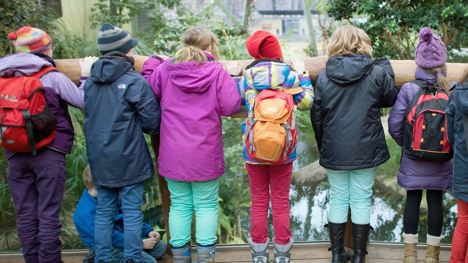 Grundschüler in Dresden