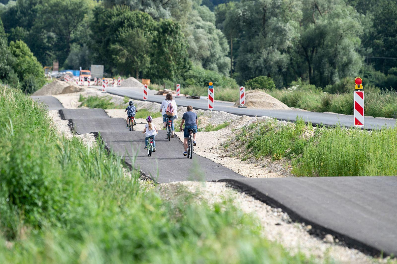 Fünf Hügel auf 500 Metern: Verwunderung wegen «Erlebnis-Radweg»