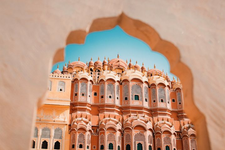 Palast der Winde in Jaipur: Eineinhalb Jahre ohne ausländische Touristen und Touristinnen