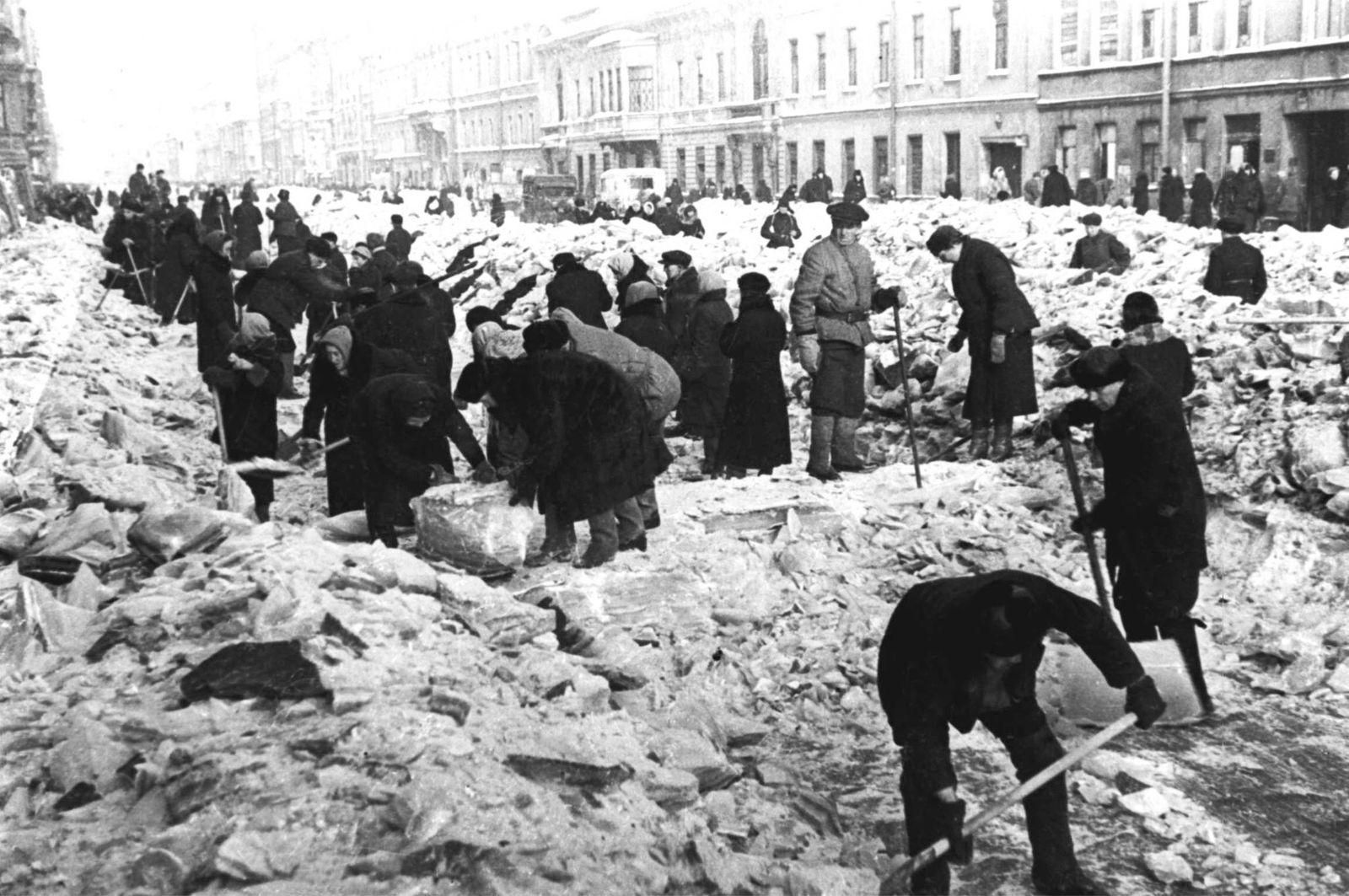 Blockade Leningrad/