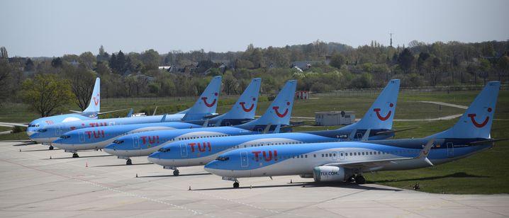 TUI-Flieger (im April 2020)