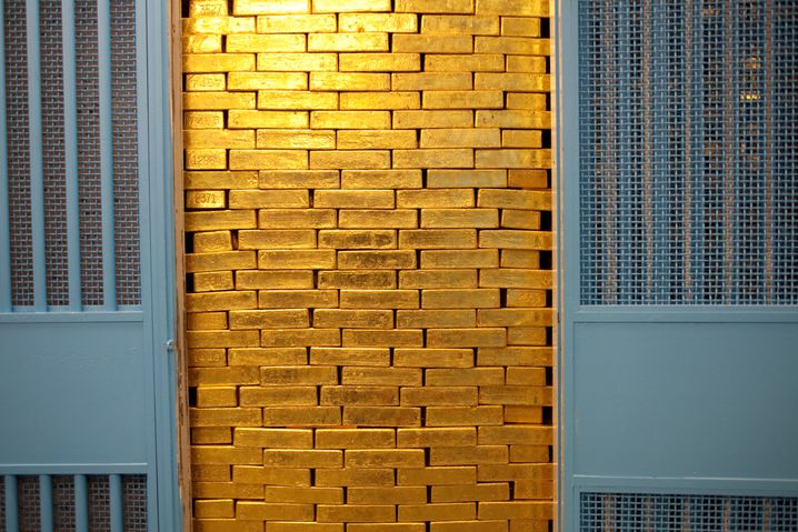 Goldbunker der Fed