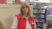 Susanne Rudwill, 56, Kassiererin, will nicht hinter einer Maske lächeln