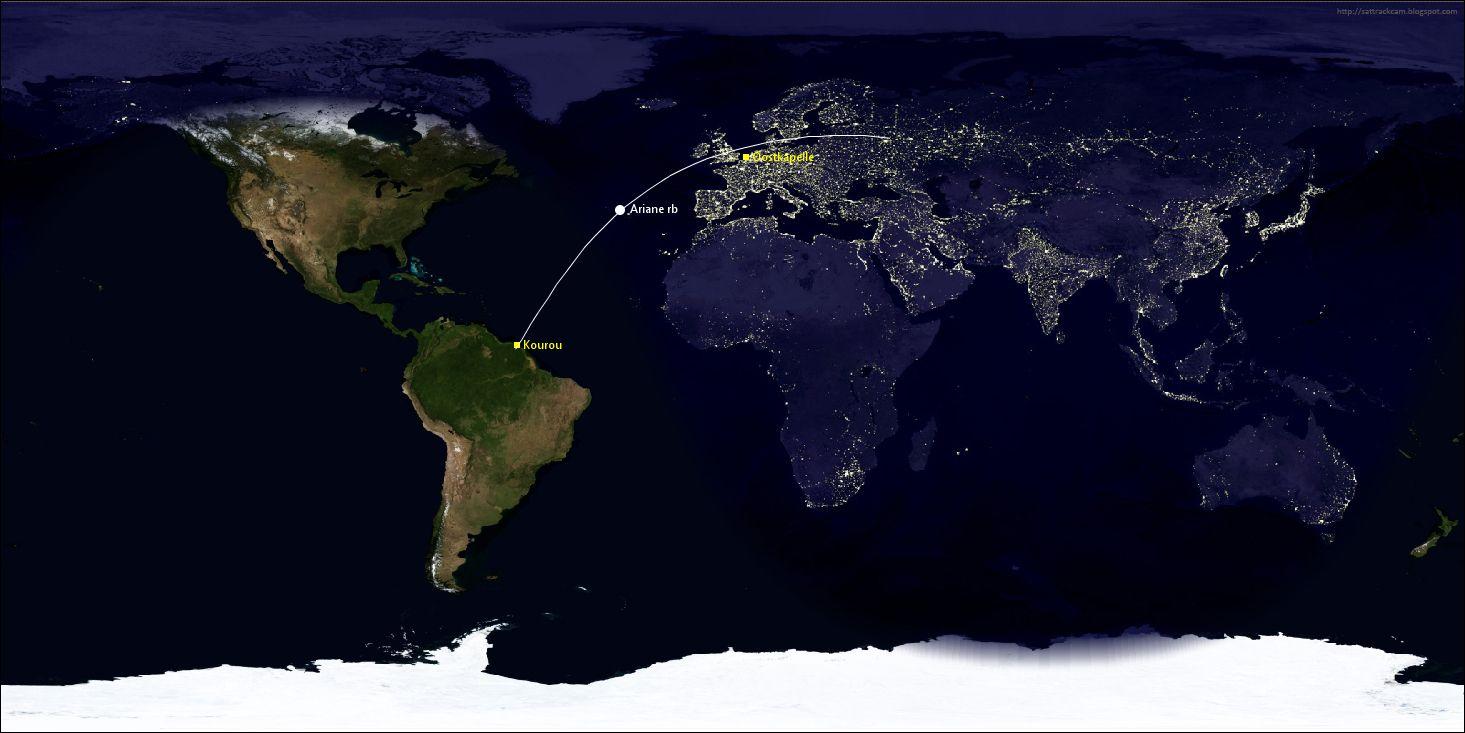 EINMALIGE VERWENDUNG Ariane VA240 launch