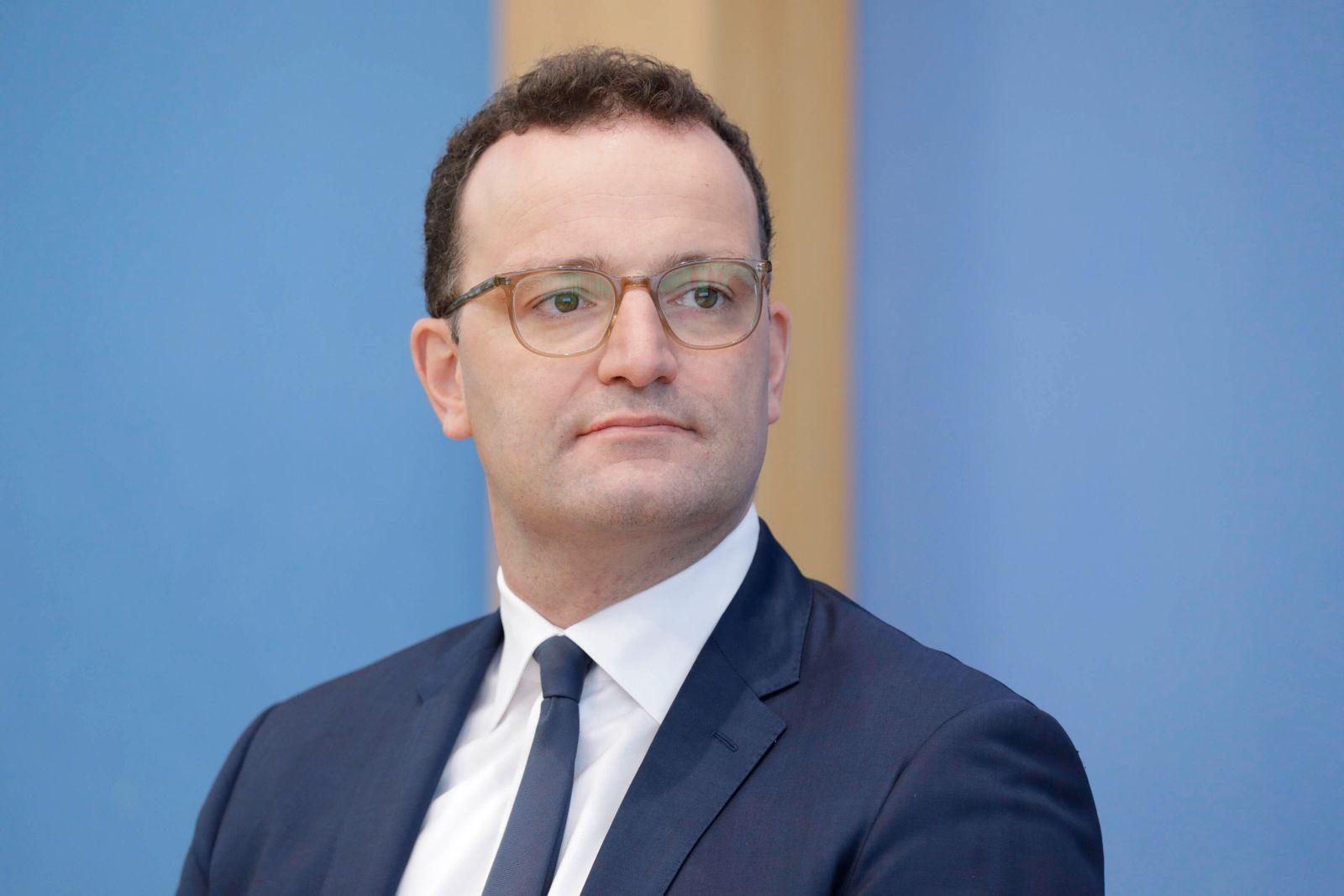 Jens Spahn, Bundesminister fuer Gesundheit, CDU, PK zu - 100 Tage Corona-Warn-App, DEU, Berlin, 23.09.2020 *** Jens Spah