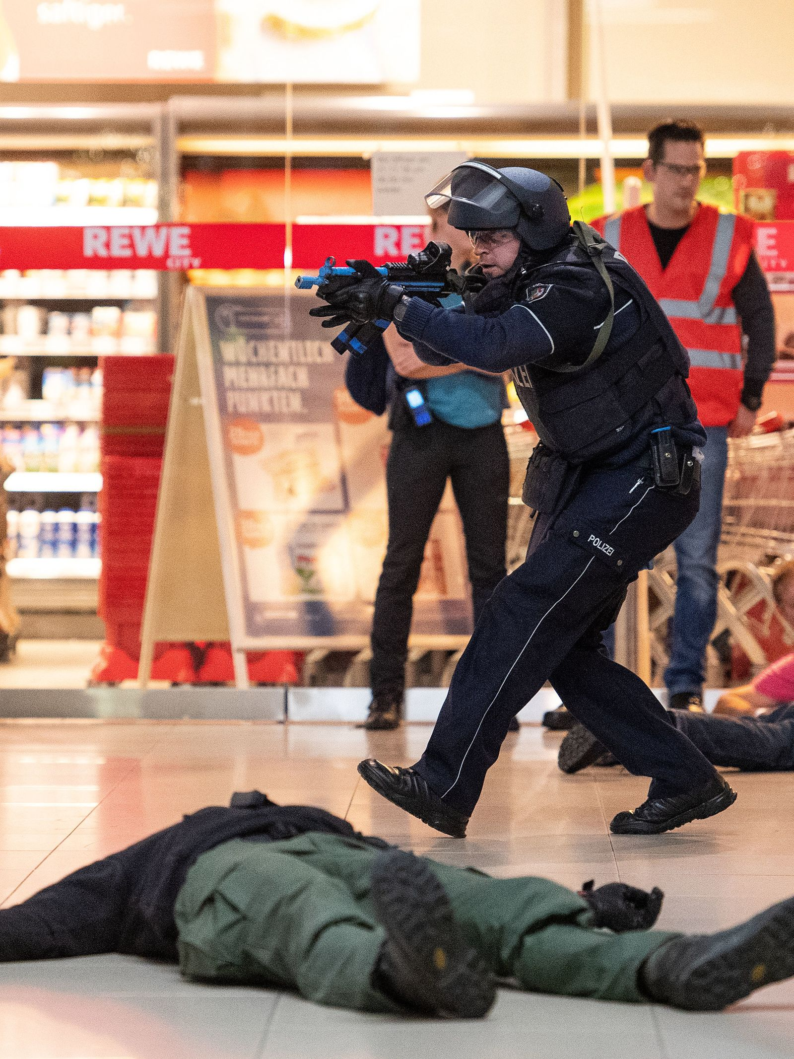 Anti-Terror-Übung am Flughafen Köln/Bonn