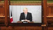 »Haben Sie den falschen Knopf gedrückt, Premierminister?«