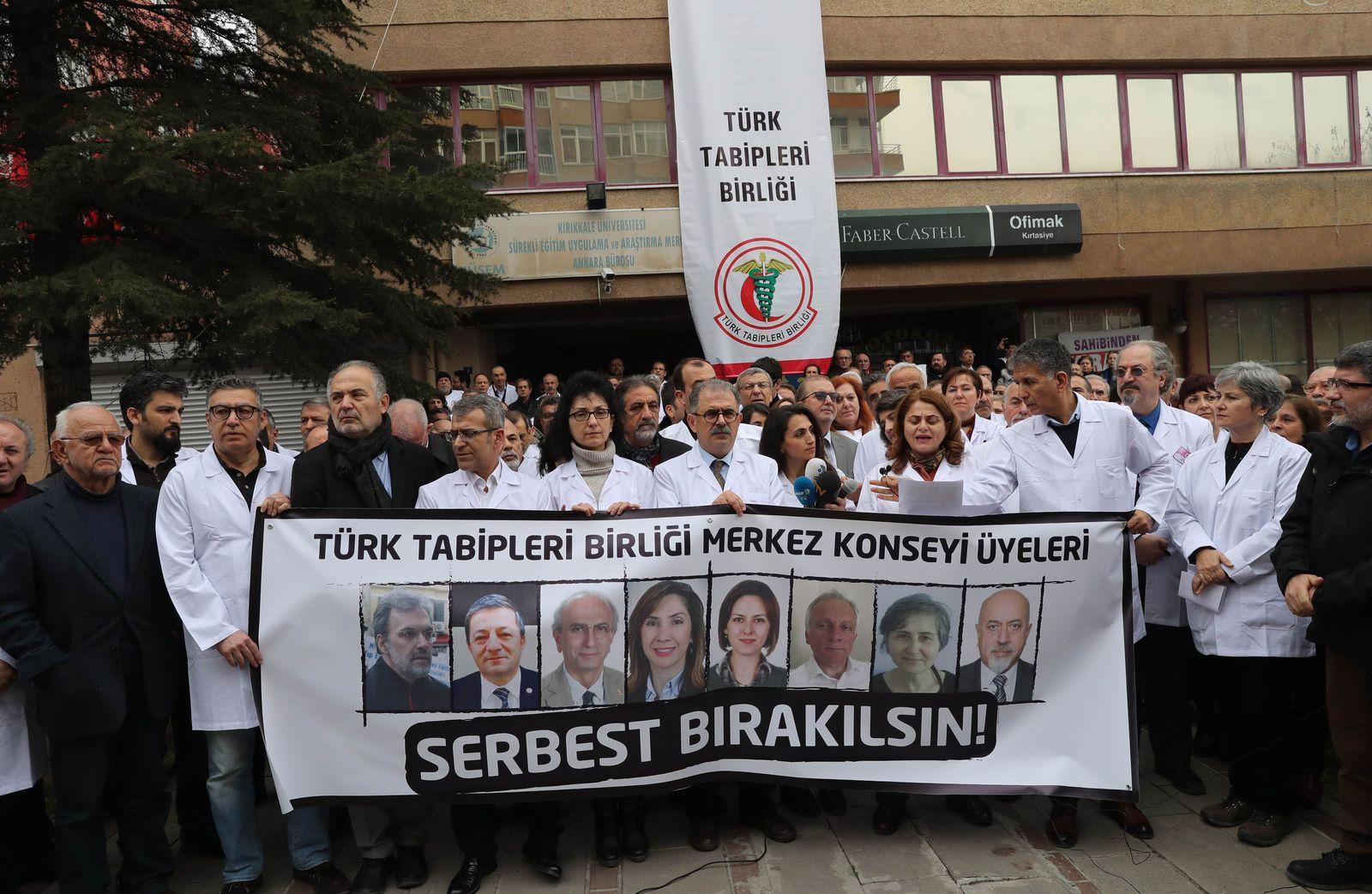 Türkei/ Syrien/ Festnahmen/ Ärzte