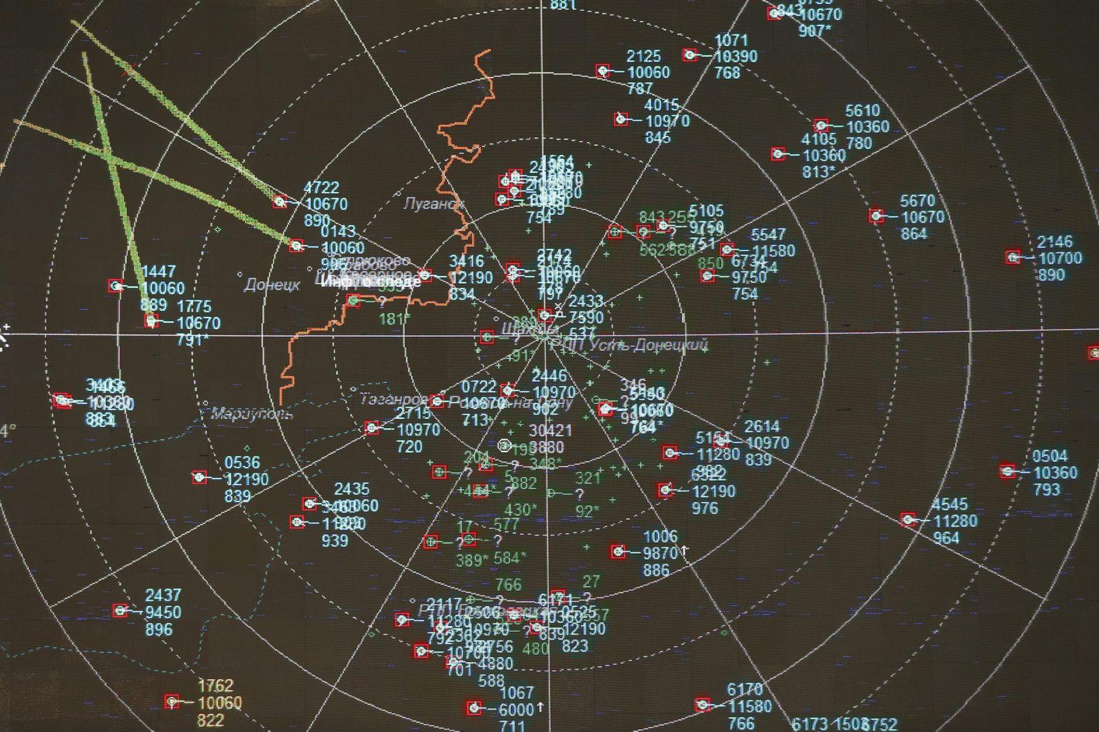 MH17/ Russische Radardaten