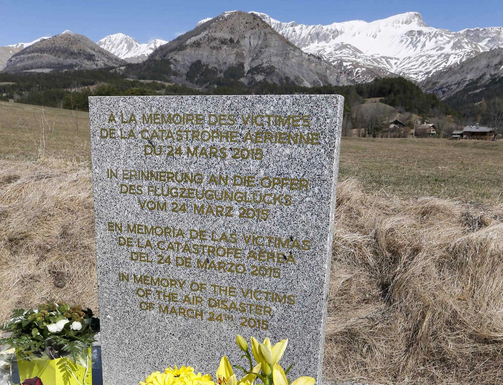 Gedenkstein Germanwings