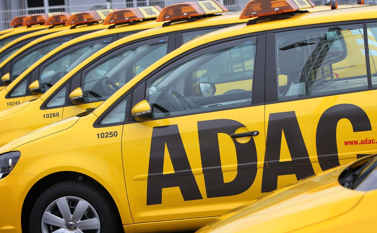 ADAC Auto Gelber Engel