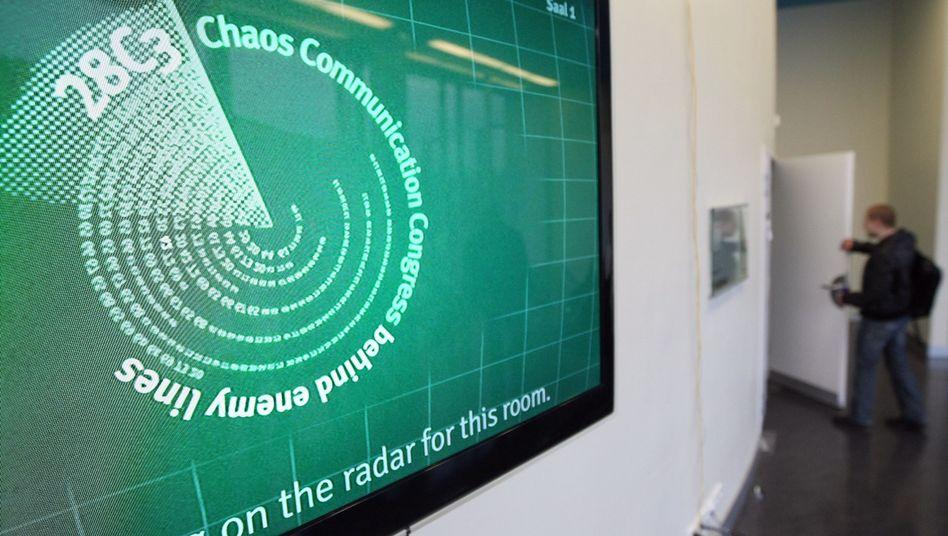 Logo des 28C3: Der Chaos Communication Congress in Berlin endet an diesem Freitag