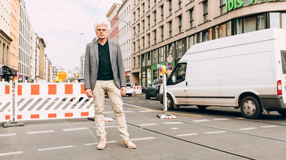Roland Stimpel, Vorstand der Lobbygruppe »Fuss«, in Berlin-Mitte