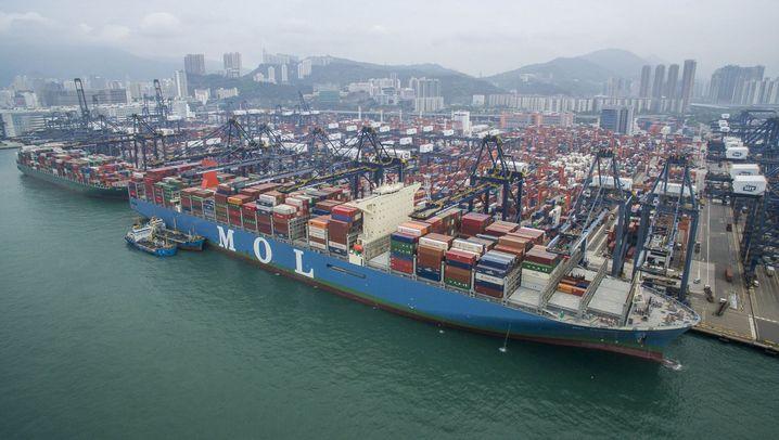 Containerriese: Der 20.000-Kästen-Kasten