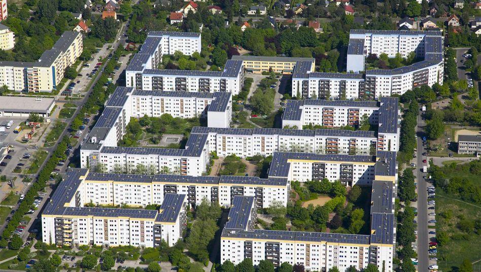Pilotprojekt einer Solaranlage für Mieter in Berlin