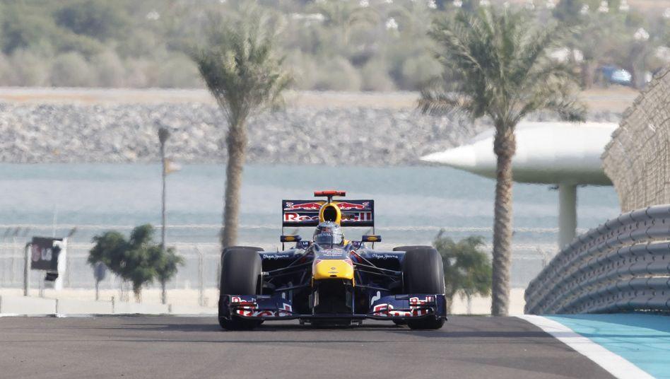 Red-Bull-Pilot Vettel: In der Wüste bisher kaum zu schlagen