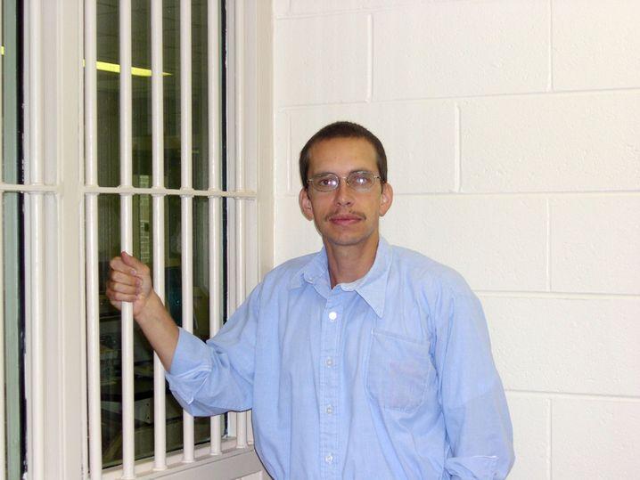 Mehr als drei Jahrzehnte hinter Gittern: Söring in der Justizvollzugsanstalt Brunswick (2003)