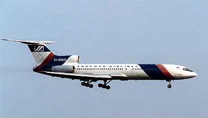 Tupolew-154: Offenbar missachtete der Pilot die Anweisungen