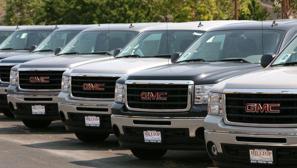 GM-Trucks in Kalifornien: Zu großer Aufwand