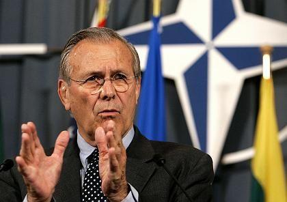 US-Verteidigungsminister Rumsfeld: Keine Äußerungen zu US-Atomwaffen in Deutschland