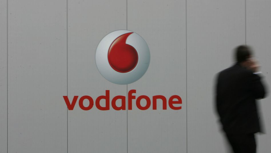 Vodafone-Logo: Der Konzern beugte sich Anweisungen des ägyptischen Regimes