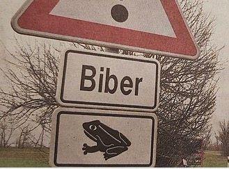 Verkehrsschild in Magdeburg