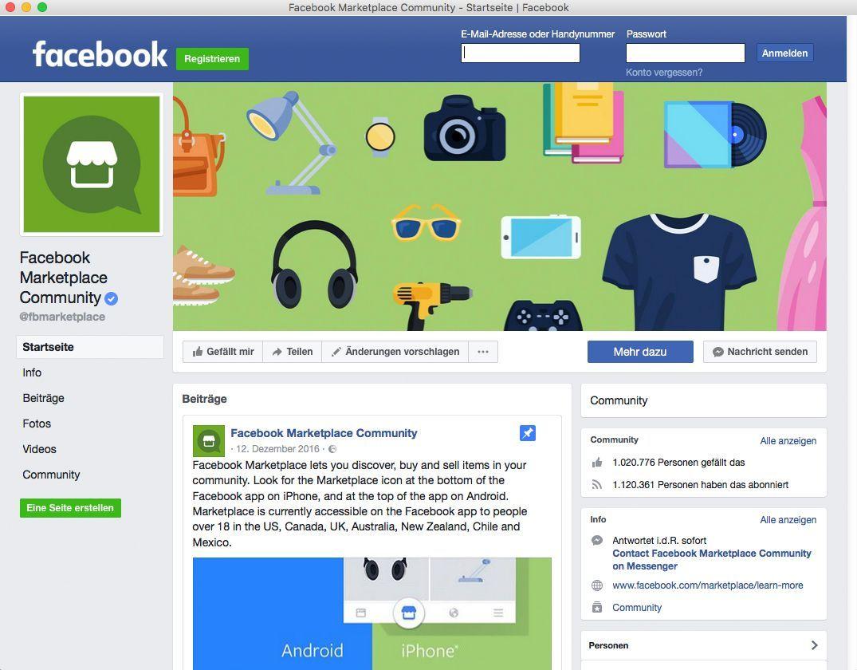Facebook Marketplace Ausschalten