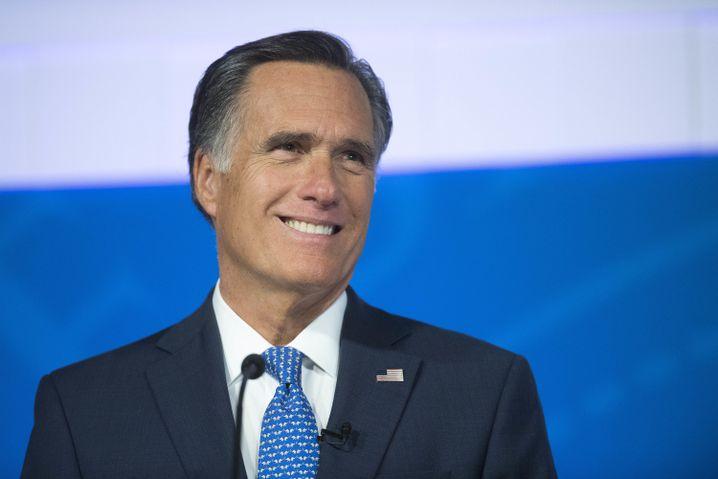 Mitt Romney, Senator aus Utah, gehört zu den schärfsten Kritikern des Präsidenten im Senat