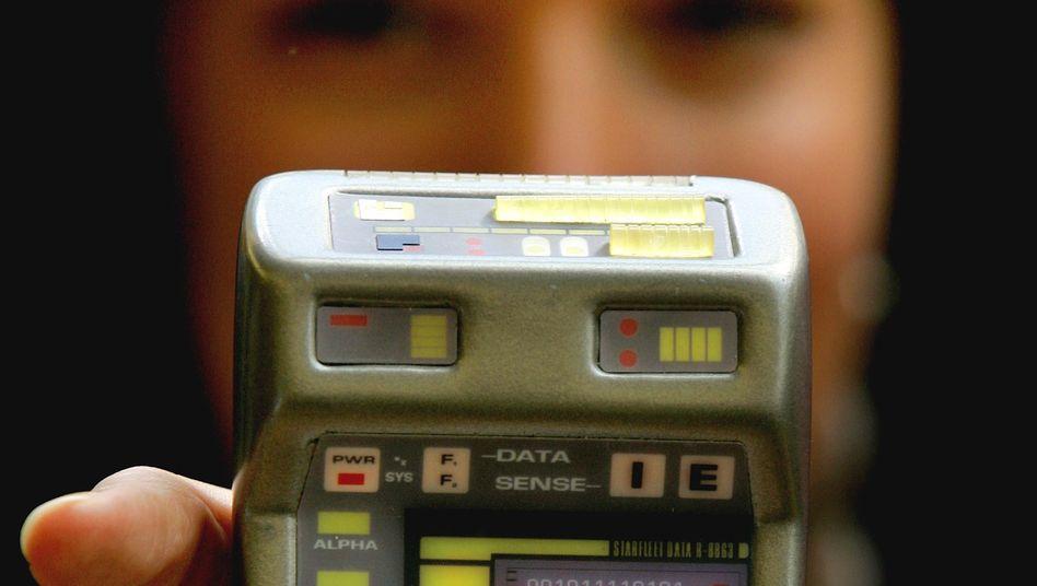 """Trikorder-Attrappe: Dem Sohn des """"Star Trek""""-Erfinders gefällt die Idee offenbar"""