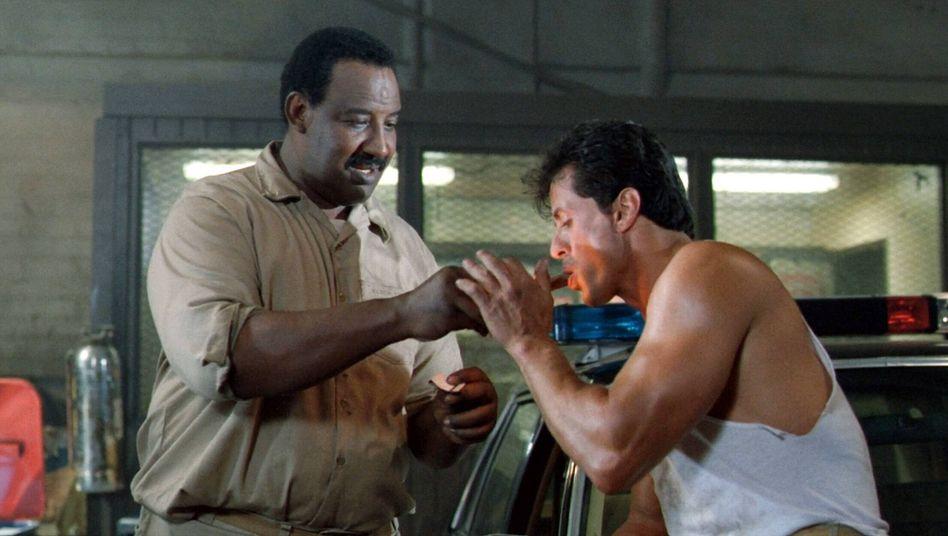 Frank McRae in »Lock Up«: Viermal in Stallone-Filmen gespielt