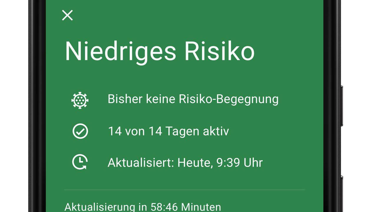 Neue Screenshots: So soll die deutsche Corona-Warn-App aussehen
