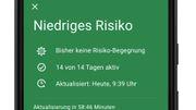 So soll die deutsche Corona-Warn-App aussehen