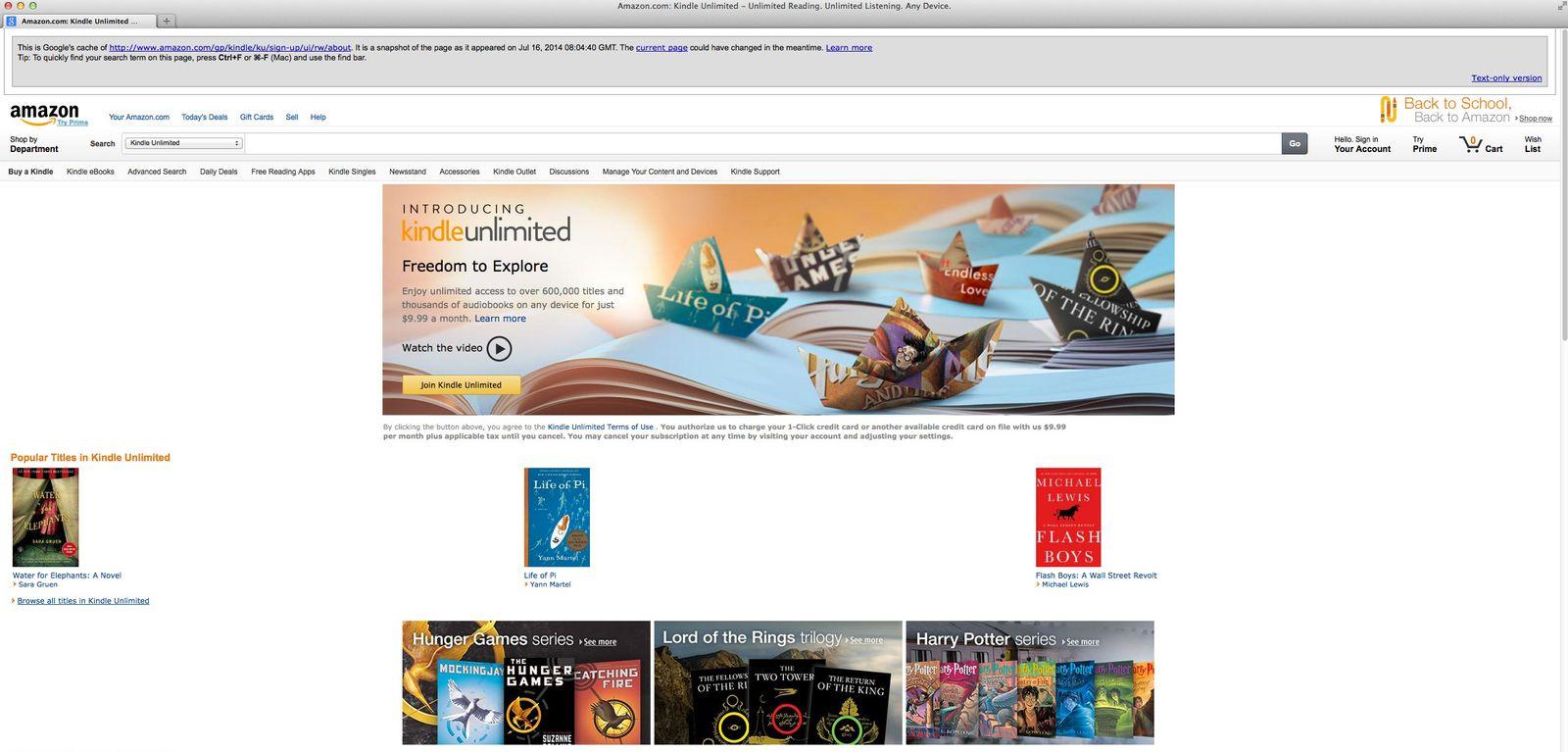 NUR ALS ZITAT Screenshot/ Amazon/ Kindle Unlimited