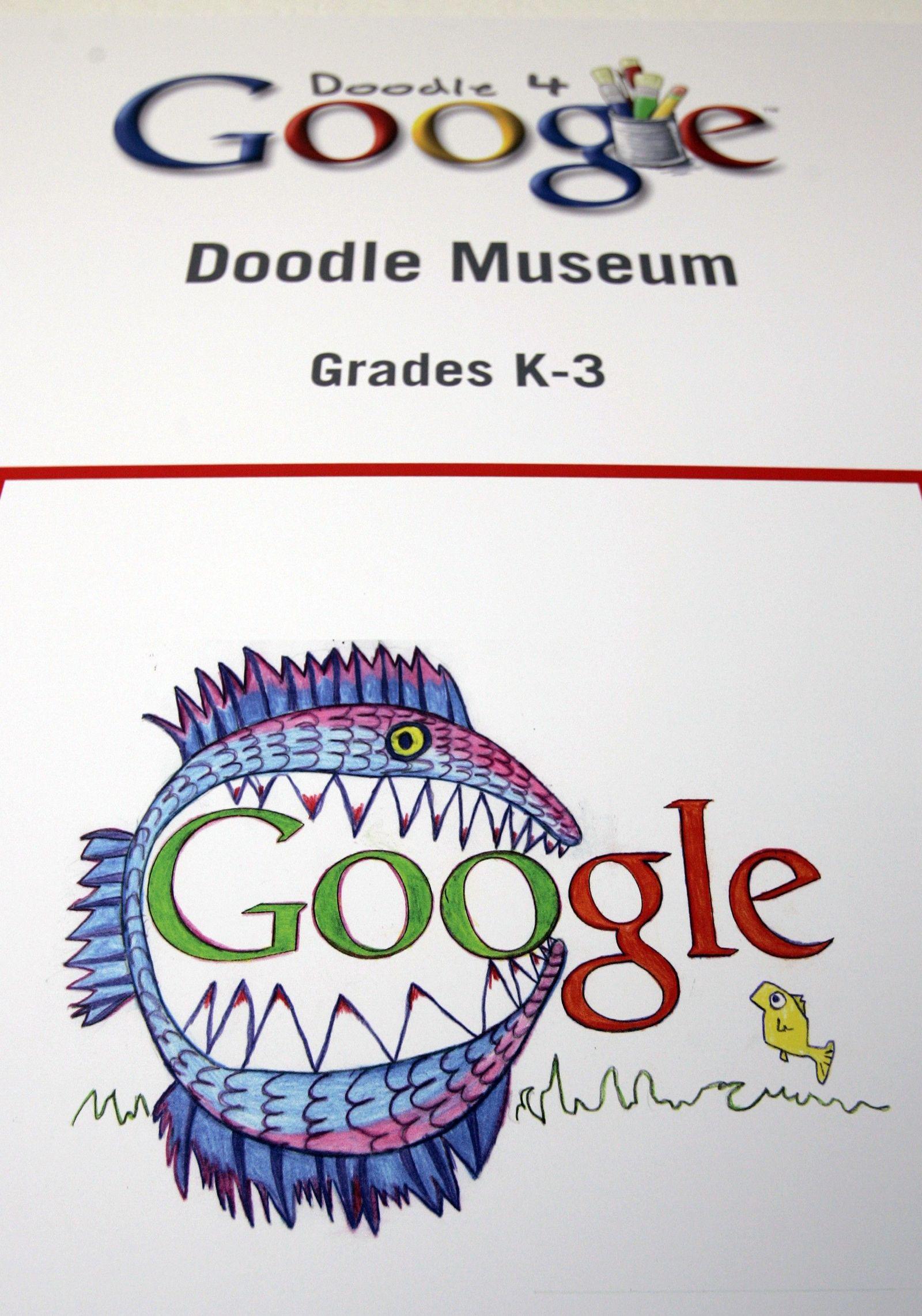 Google / gemaltes Logo