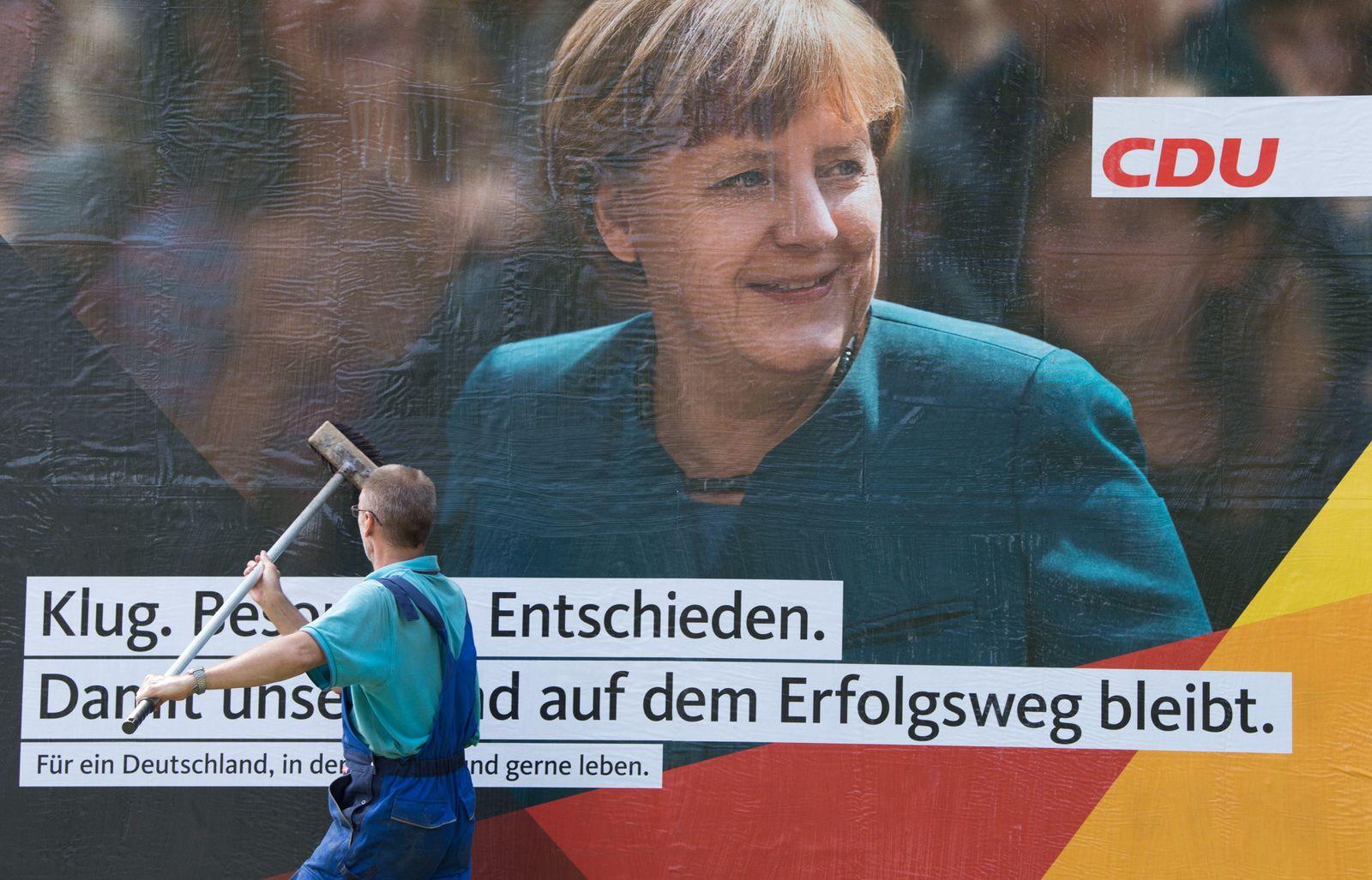 Wahlplakat CDU